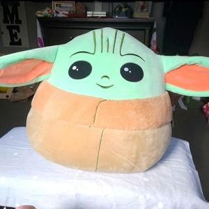 Jumbo Size Baby Yoda Squishmallow